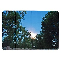 Coming Sunset Accented Edges Samsung Galaxy Tab 8.9  P7300 Flip Case