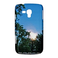 Coming Sunset Accented Edges Samsung Galaxy Duos I8262 Hardshell Case