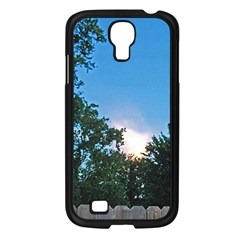 Coming Sunset Accented Edges Samsung Galaxy S4 I9500/ I9505 Case (black)