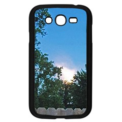 Coming Sunset Accented Edges Samsung Galaxy Grand DUOS I9082 Case (Black)