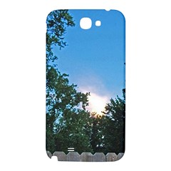 Coming Sunset Accented Edges Samsung Note 2 N7100 Hardshell Back Case