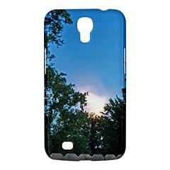 Coming Sunset Accented Edges Samsung Galaxy Mega 6 3  I9200 Hardshell Case