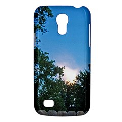Coming Sunset Accented Edges Samsung Galaxy S4 Mini (gt I9190) Hardshell Case