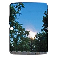 Coming Sunset Accented Edges Samsung Galaxy Tab 3 (10 1 ) P5200 Hardshell Case