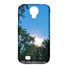 Coming Sunset Accented Edges Samsung Galaxy S4 Classic Hardshell Case (PC+Silicone)