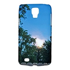 Coming Sunset Accented Edges Samsung Galaxy S4 Active (I9295) Hardshell Case