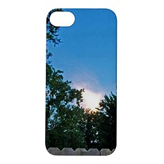 Coming Sunset Accented Edges Apple iPhone 5S Hardshell Case