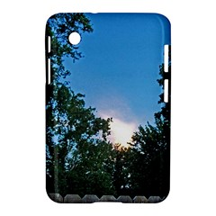 Coming Sunset Accented Edges Samsung Galaxy Tab 2 (7 ) P3100 Hardshell Case