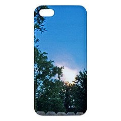 Coming Sunset Accented Edges iPhone 5S Premium Hardshell Case