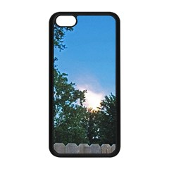Coming Sunset Accented Edges Apple iPhone 5C Seamless Case (Black)