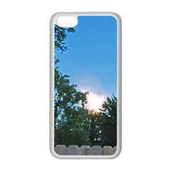 Coming Sunset Accented Edges Apple iPhone 5C Seamless Case (White)