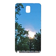 Coming Sunset Accented Edges Samsung Galaxy Note 3 N9005 Hardshell Back Case