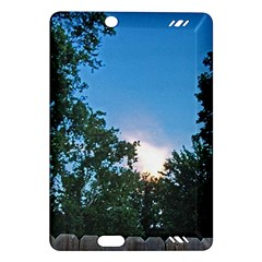 Coming Sunset Accented Edges Kindle Fire HD 7  (2nd Gen) Hardshell Case