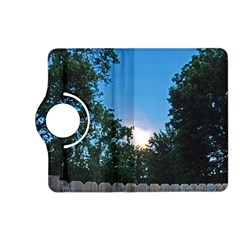 Coming Sunset Accented Edges Kindle Fire HD 7  (2nd Gen) Flip 360 Case