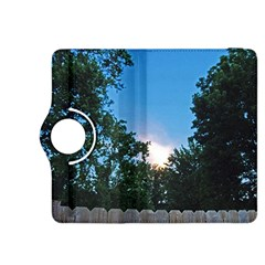 Coming Sunset Accented Edges Kindle Fire HDX 8.9  Flip 360 Case