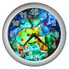 sister of B Wall Clock (Silver)