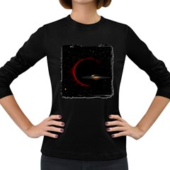Altair IV Women s Long Sleeve T-shirt (Dark Colored)
