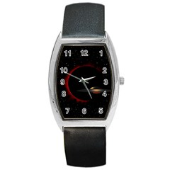 Altair IV Tonneau Leather Watch