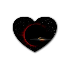 Altair IV Drink Coasters (Heart)