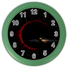 Altair IV Wall Clock (Color)