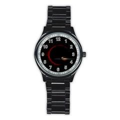 Altair IV Sport Metal Watch (Black)