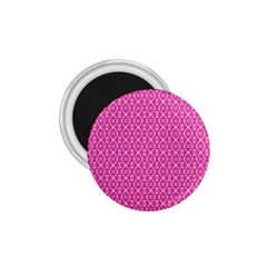 Pink Kaleidoscope 1.75  Button Magnet