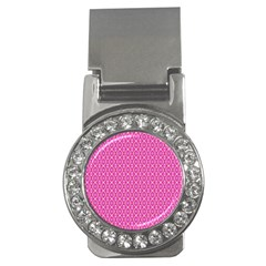 Pink Kaleidoscope Money Clip (CZ)