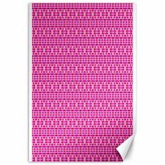 Pink Kaleidoscope Canvas 20  X 30  (unframed)