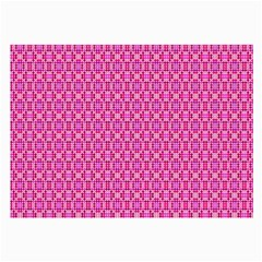 Pink Kaleidoscope Glasses Cloth (Large, Two Sided)