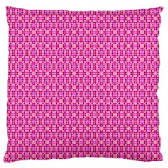 Pink Kaleidoscope Large Cushion Case (single Sided)