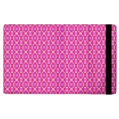 Pink Kaleidoscope Apple iPad 3/4 Flip Case