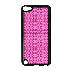 Pink Kaleidoscope Apple iPod Touch 5 Case (Black)
