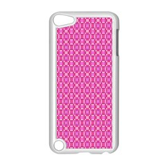 Pink Kaleidoscope Apple iPod Touch 5 Case (White)