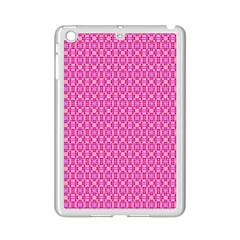 Pink Kaleidoscope Apple Ipad Mini 2 Case (white)