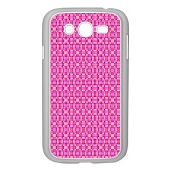 Pink Kaleidoscope Samsung Galaxy Grand Duos I9082 Case (white)