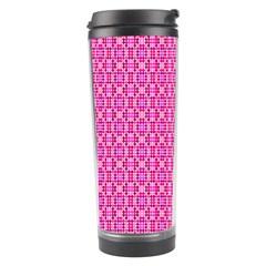Pink Kaleidoscope Travel Tumbler