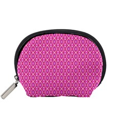 Pink Kaleidoscope Accessories Pouch (small)