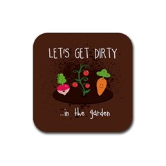 let s Get Dirty   In The Garden  Summer Fun  Drink Coasters 4 Pack (square)
