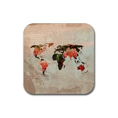 Vintageworldmap1200 Drink Coasters 4 Pack (square)