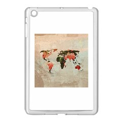 Vintageworldmap1200 Apple Ipad Mini Case (white)