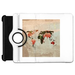 Vintageworldmap1200 Kindle Fire Hd 7  (1st Gen) Flip 360 Case