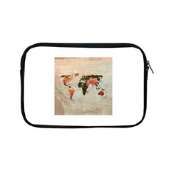 Vintageworldmap1200 Apple iPad Mini Zippered Sleeve
