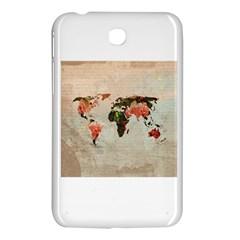 Vintageworldmap1200 Samsung Galaxy Tab 3 (7 ) P3200 Hardshell Case