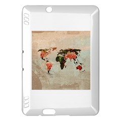Vintageworldmap1200 Kindle Fire Hdx 7  Hardshell Case