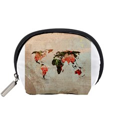 Vintageworldmap1200 Accessories Pouch (Small)