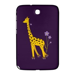Purple Cute Cartoon Giraffe Samsung Galaxy Note 8 0 N5100 Hardshell Case