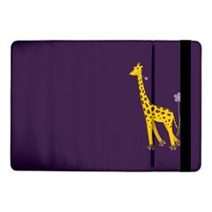 Purple Cute Cartoon Giraffe Samsung Galaxy Tab Pro 10.1  Flip Case