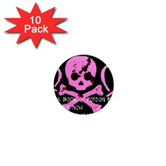 Book1 1  Mini Button Magnet (10 Pack)