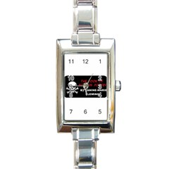 10269957 10203544460322358 1516006616 N Rectangular Italian Charm Watch
