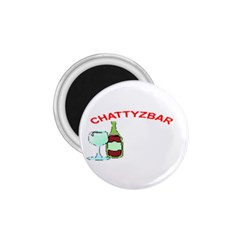 Chattyzbar T Shirt 1 75  Button Magnet